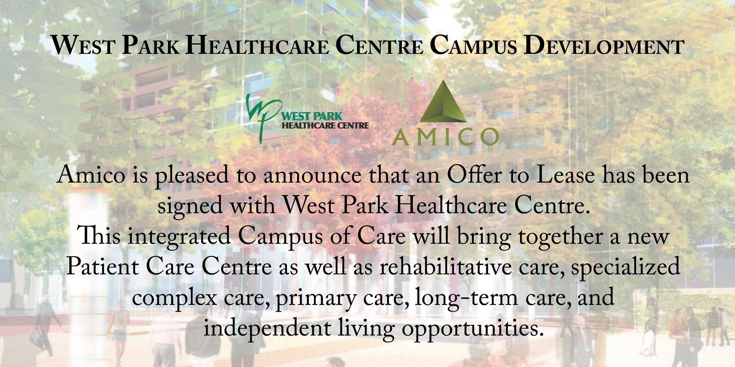 West Park announcement for website-page-001