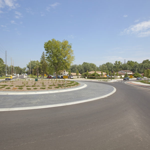 Roundabout-right view